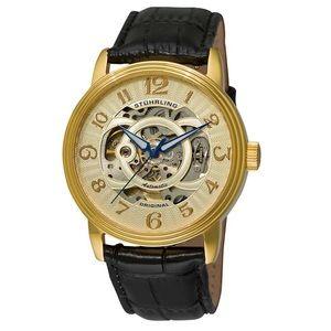 Stuhrling Delphi Alpha 107EG Skeleton Watch